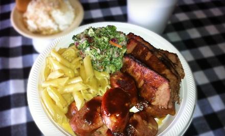 Barbecue Dinner for Two (Up to a $34.54 Total Value) - Big Barn Bar-B-Que in North Richland Hills