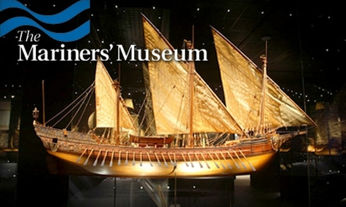 The Mariners' Museum - Warwick: $35 for a One-Year Household Membership ($75 Value) or $20 for a One-Year Individual Membership ($45 Value) at The Mariners' Museum