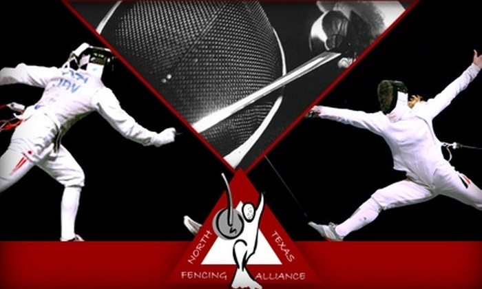 North Texas Fencing Alliance - Avion Park: $25 for Four Beginner Fencing Classes at North Texas Fencing Alliance ($85 Value)