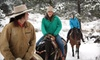 Estes Park Horseback - Estes Park: 60-Minute Horseback-Riding Adventure with Hot Chocolate for Two or Four at Estes Park Horseback (Up to 57% Off)