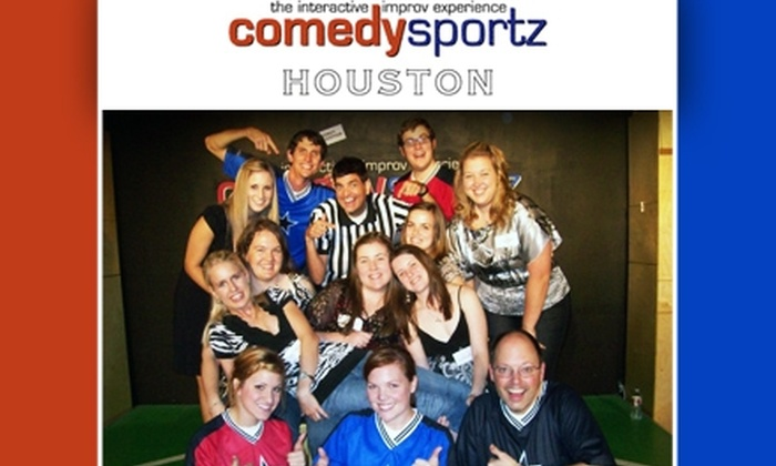 Comedy Sportz - Memorial: $8 Ticket to an Interactive Improv Show at ComedySportz