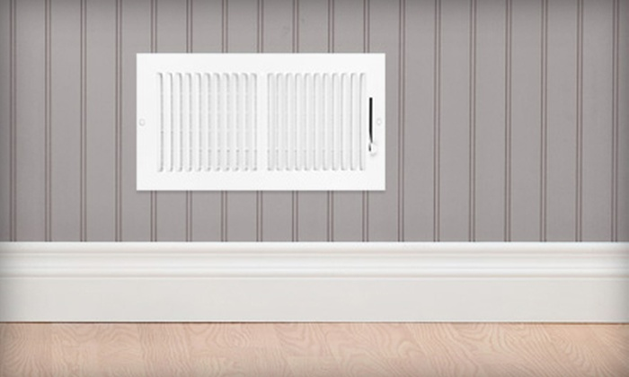 V Clean - Liberty Square: $45 for Air-Duct Cleaning Package ($135) from V Clean