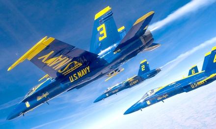 Thunder Over Michigan Air Show feat. The Blue Angels with Parking on September 2–4