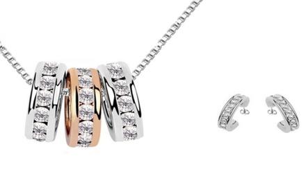 1 of 2 Victorias Candy sieradensets versierd met Swarovski® kristallen