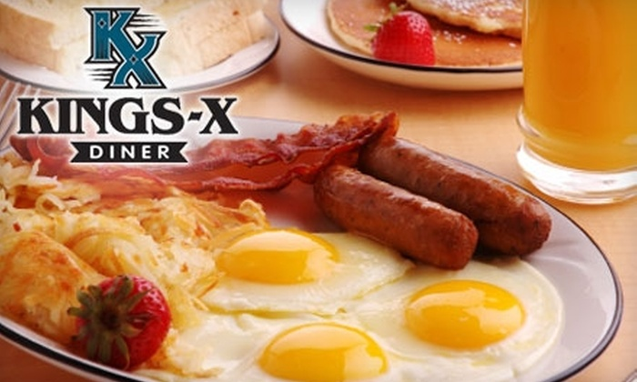 Kings X Diner - Benjamin Hills: $7 for $15 Worth of Fare at Kings X Diner