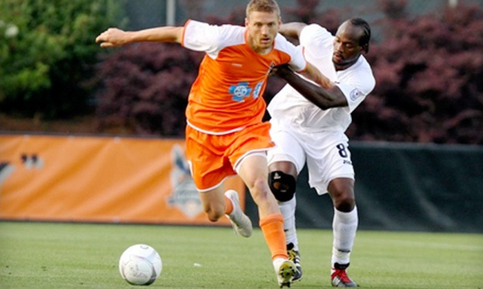 Carolina RailHawks - Cary: $25 for a Carolina RailHawks Soccer Game and Taste of the Triangle Event for Two at WakeMed Soccer Park in Cary on May 2 ($50 Value)