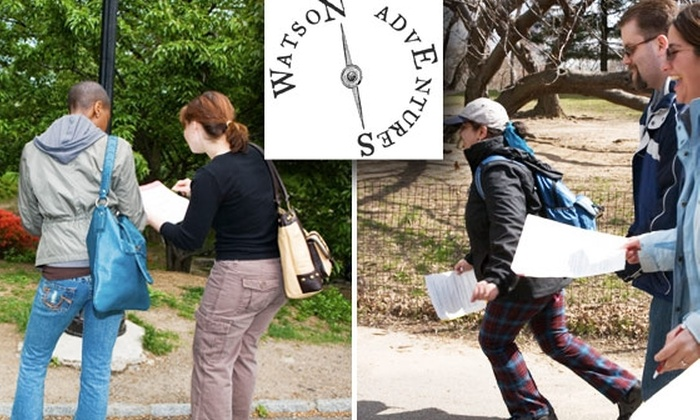 Watson Adventures - New York City: $12 for Watson Adventures' Secrets of Wall Street Scavenger Hunt on October 10 at 1 p.m. See Below for October 17.