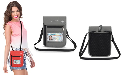 Waterproof RFID Travel Wallet in a Choice of Colour: One ($14.95) or Two ($24.95)