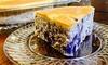 Just Cheesecake - In-Store Pickup: Gluten-Free Purple Sweet Potato Cheesecake at Just Cheesecake