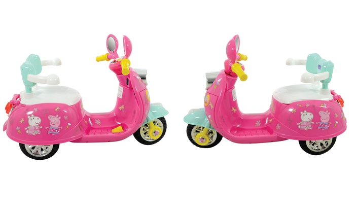 Peppa Pig 6V Ride-On Motorbike | Groupon