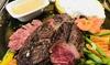 Fleischplatte vom Lavastein-Grill