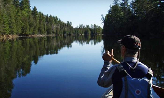 Pure Life Adventures - Ladysmith: One-Day Canoe Trip for Two or Two-Day Canoe Trip for One from Pure Life Adventures in Ladysmith (Up to 70% Off)