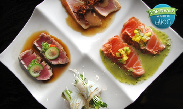 Miraku - Thomaston: Three-Course Japanese Dinner for Two or $10 for $20 Worth of Lunch Fare at Miraku in Great Neck