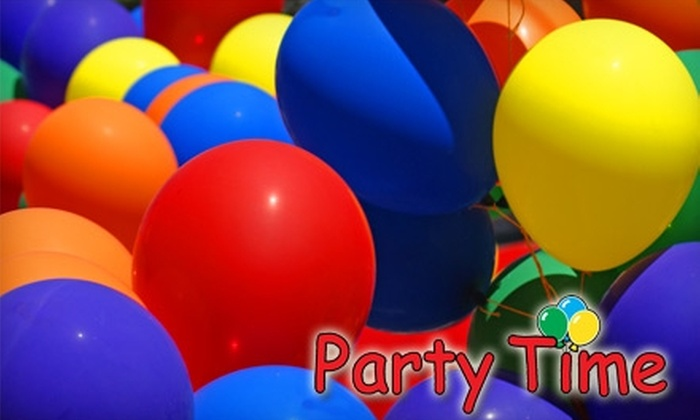 Party Time - Multiple Locations: $10 for $20 Worth of Party Supplies at Party Time