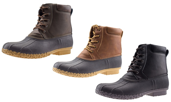 Waterproof Insulated Duck Boots