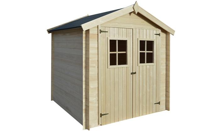 Casetta in legno groupon for Groupon arredo giardino