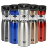 Kalorik Stainless Steel Gravity-Activated Salt and Pepper Grinder Set