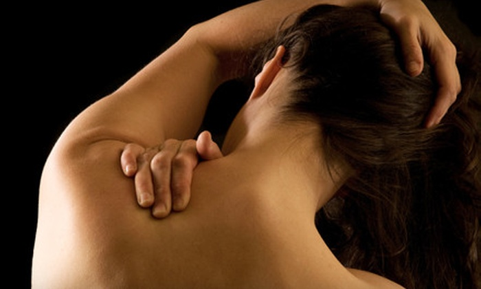 A Healthy Back - Multiple Locations: Cold-Laser Therapy or a Chiropractic Treatment Package at A Healthy Back in Fayetteville (Up to 82% Off)