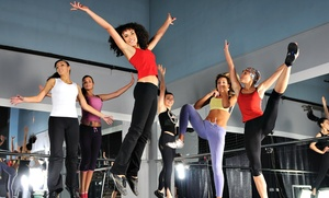 Nuevolution Dance Studio: Five Dance and Fitness Classes or One Month of Unlimited Classes at Nuevolution Dance Studio (Up to 53% Off)