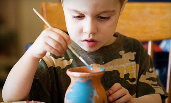 Ark Row Center for Enrichment - Tiburon: $62 for a Four-Week Kids' Pottery Class at Ark Row Center for Enrichment in Tiburon (Up to $140 Value)