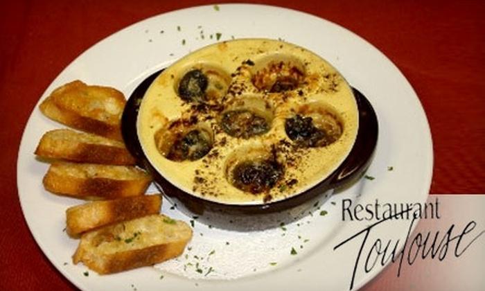 Restaurant Toulouse - Saugatuck: $25 for $50 of Elegant French Fare at Restaurant Toulouse in Saugatuck