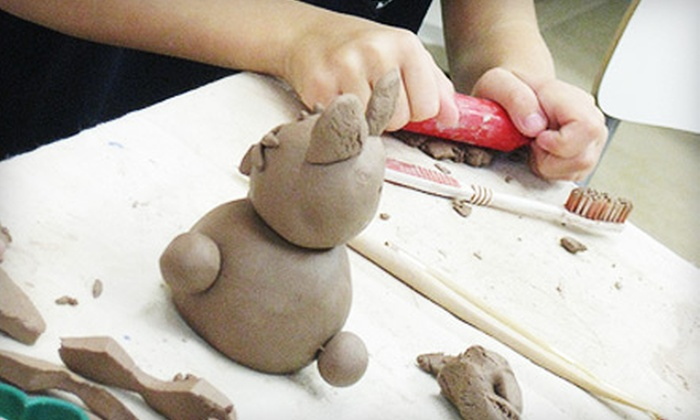 MIY Ceramics - Parkside: $29 for Two-Hour Glass-Fusing or Clay-Modeling Class at MIY Ceramics in Hollywood ($60 Value)