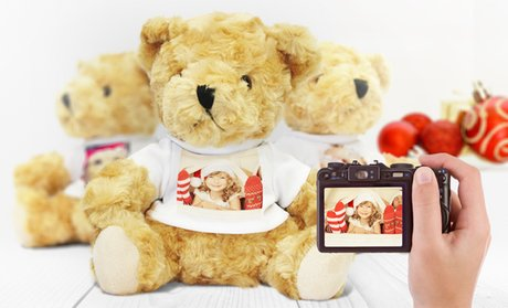 Personalized Photo Teddy Bear from Printerpix