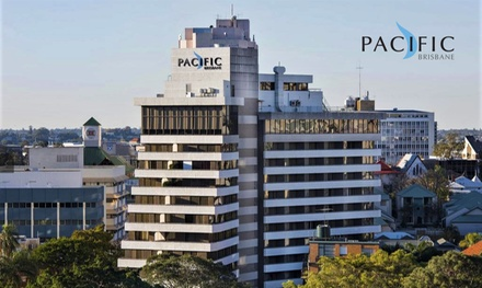 Brisbane: 1 or 2 Nights for Up to 2 Adults and 2 Children with Breakfast and Optional Dinner at Pacific Hotel Brisbane