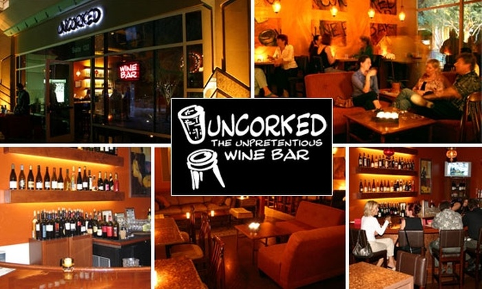 Uncorked Wine Bar - Phoenix: $20 for $40 Worth of Food and Drink at Uncorked Wine Bar