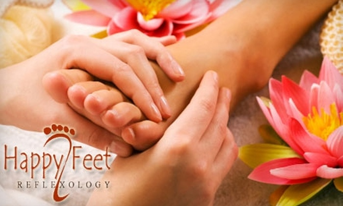 Happy Feet Reflexology - Rockville: $30 for a 60-Minute Reflexology Session at Happy Feet Reflexology ($60 Value)