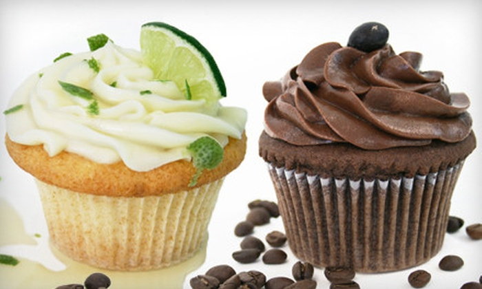 Let Them Eat Cake! - Downtown Core: Half-Dozen or One-Dozen Cupcakes at Let Them Eat Cake! in Davis (Up to 52% Off)