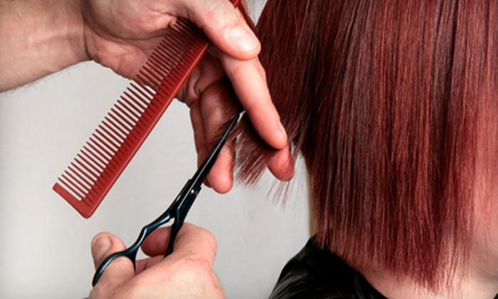 Gasoline Alley - McKnight: $19 for Haircut, Blow-Dry, and Style at Gasoline Alley (Up to $40 Value)
