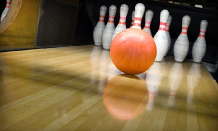 Metro Bowl - Greenwell Springs/Central: $29 for Bowling, Shoe Rental for Up to Six People, Plus Pizza and Pitcher of Soda at Metro Bowl (Up to $70.50 Value)