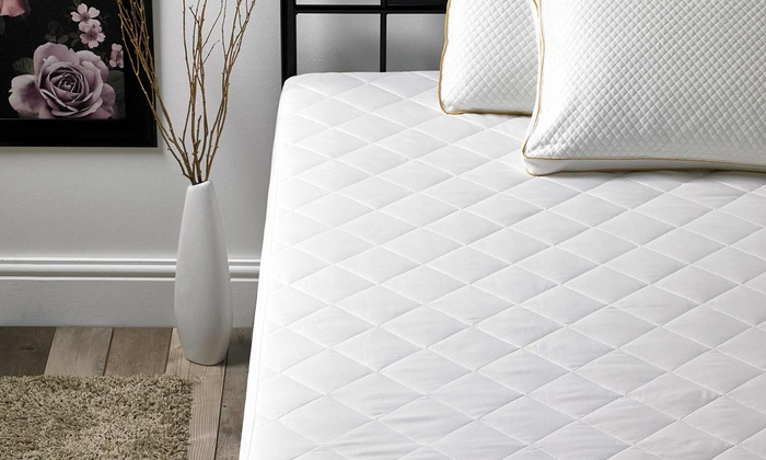 Slumba-Mate Quilted Cushion Mattress Protector for £10.99