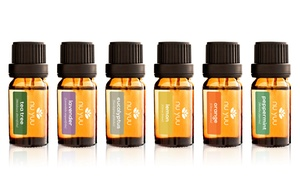 Nu Yuu Pure Therapeutic Essential Oils Set (6-Piece; 10 mL)
