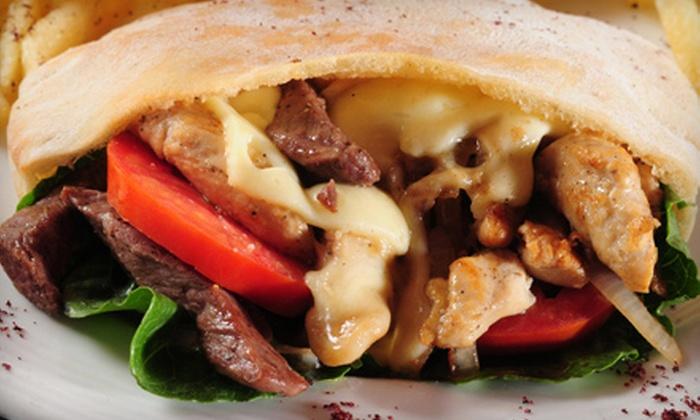 Mezza Restaurant & Lounge - Albright: $10 for $20 Worth of Mediterranean Fare and Drinks at Mezza Restaurant & Lounge
