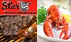Star Steak & Lobster House - French Quarter: $25 for $50 Worth of Steak, Seafood, and More at Star Steak & Lobster House
