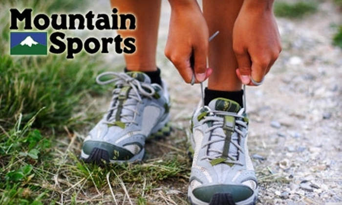 Mountain Sports - West Arlington: $20 For $40 Worth Of Outdoor Gear At Mountain Sports