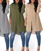 Women's Long Chiffon Shirt