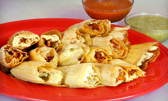 Alambres Fresh Mexican Grill - Burbank: $12 for One Dozen Tamales at Alambres Fresh Mexican Grill in Burbank ($24 Value)