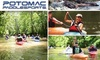 Potomac Paddle Sports - North Bethesda: Four-Hour Beginner's Kayak Lesson and Trip Down the Potomac for $49