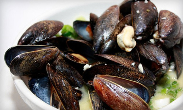 Pescatore - Midtown East: $49 for a Three-Course Meal with Wine for Two at Pescatore (Up to $117.80 Value)