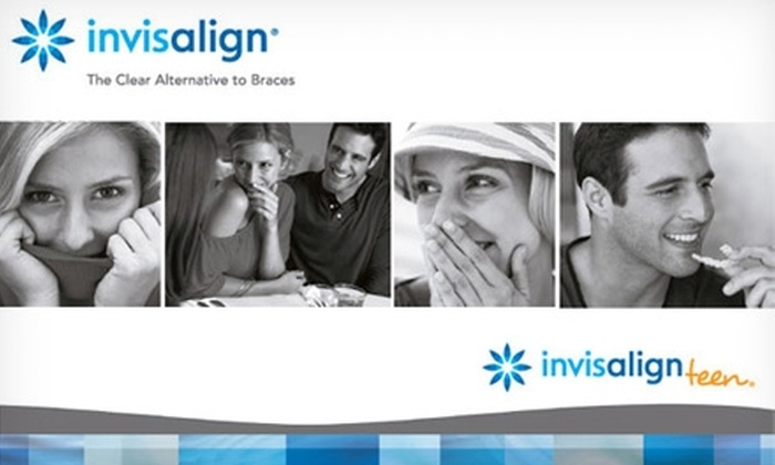 Invisalign - Multiple Locations: $59 for a Invisalign Exam, Basic Cleaning, X-Rays, and Invisalign Impressions ($470 Value) Plus $1,100 Off Invisalign. Choose From Five Locations