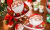 Holiday Vinyl-Coated Placemat Set (4-Piece)