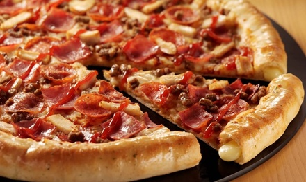 Pizza Hut: £30 Toward Food, Available at Four Locations (47% Off)