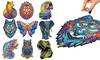 Puzzle d'animaux en bois, taille et modèle au choix