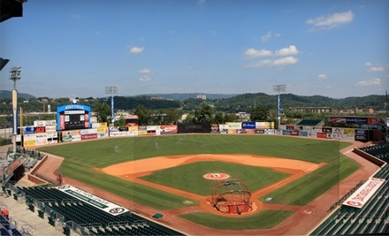Chattanooga Lookouts vs. Tennessee on 4/9, Jackson on 4/30, or Mississippi on 5/7 - Chattanooga Lookouts in Chattanooga