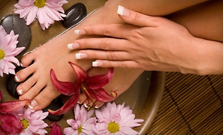 Lotus Day Spa: Standard Mani-Pedi Package  - Lotus Day Spa in Barrie