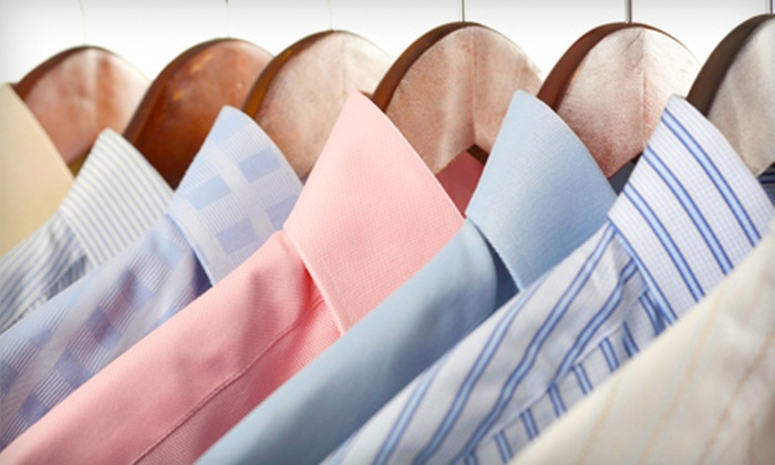 77 Green Dry Cleaners - Pikesville: $20 for $40 Worth of Green Dry Cleaning, Alterations, and Wedding-Gown Preservation at 77 Green Dry Cleaners