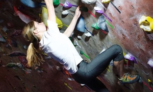 $32 for Five Clip-and-Go Climbing Sessions at Hoosier Heights ($60 Value)